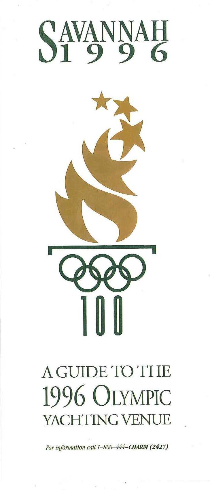 Savannah 1996 Olympic Guide