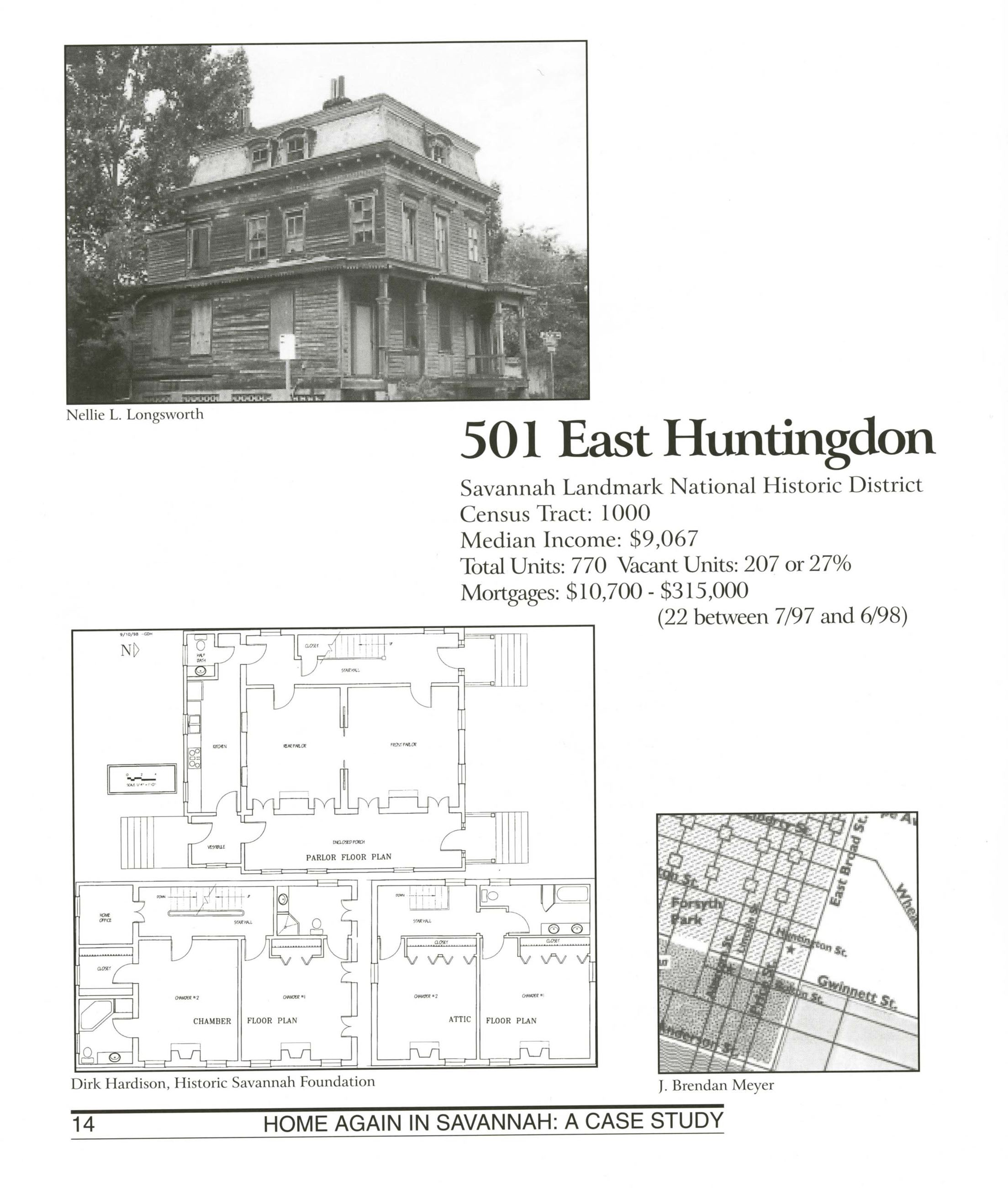 501 East Huntingdon Fact Sheet