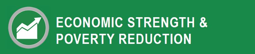 Economic Strength and Poverty Reduction  header