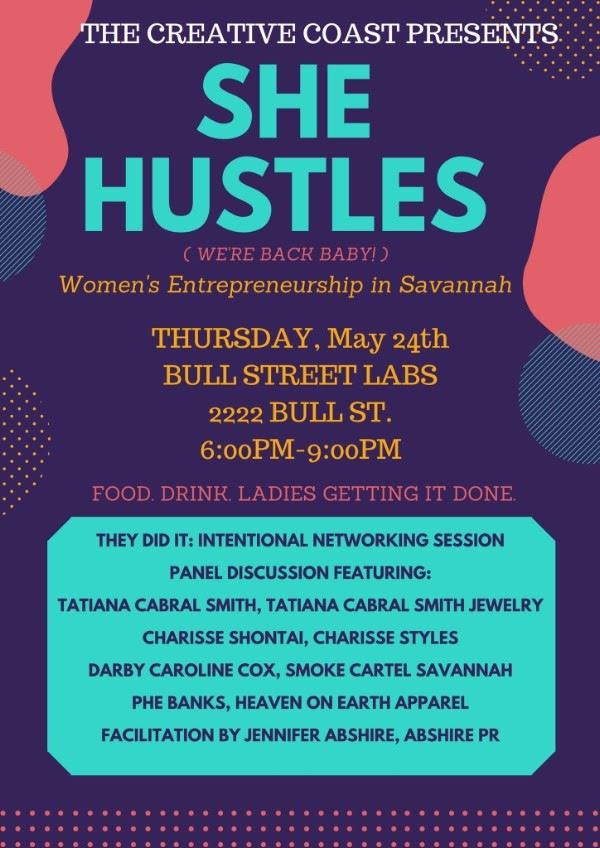She Hustles May 24