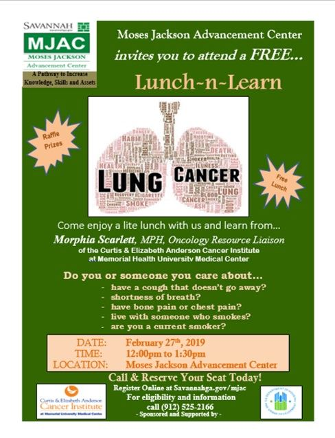 Lunch n Learn - Lung Cancer