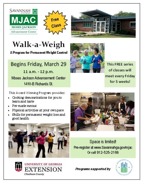 UGA- Walk a Weigh