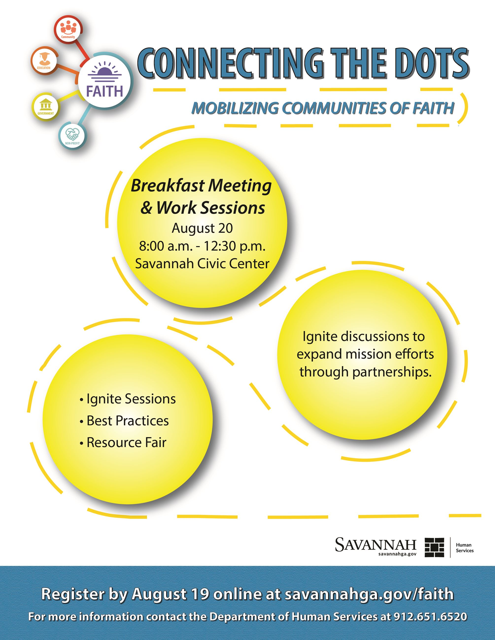 Connecting the Dots Mobilizing Communities of Faith