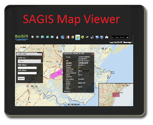 SAGIS Map Viewer