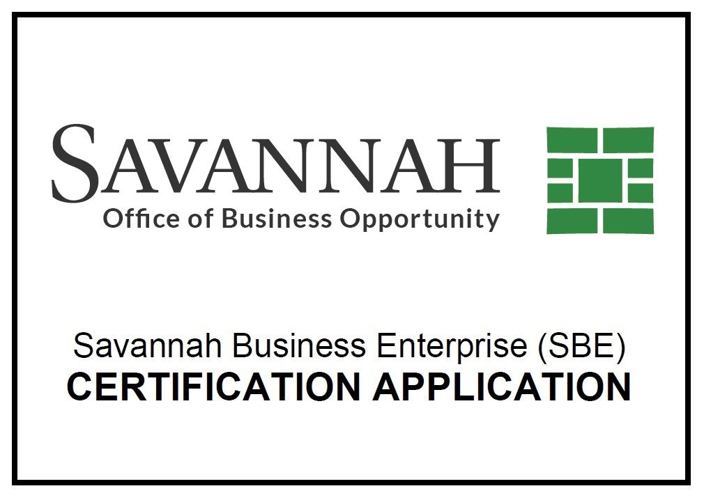 Savannah Business Opportunity Program Savannah Ga Official Website