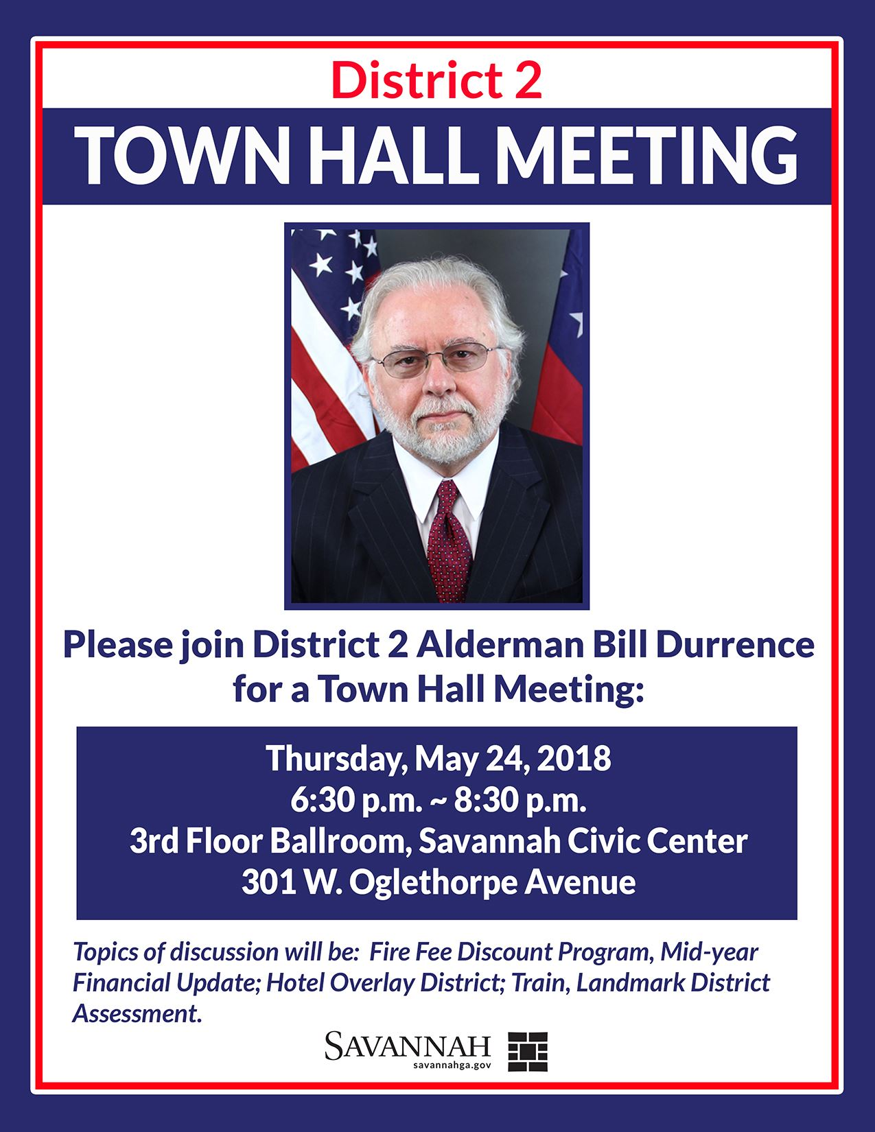 District 2 Town Hall Meeting