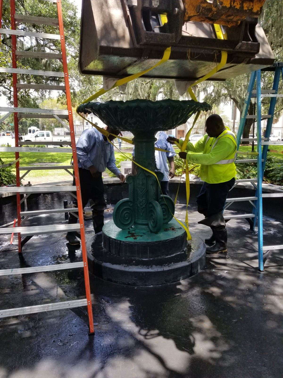 Fountain Removal