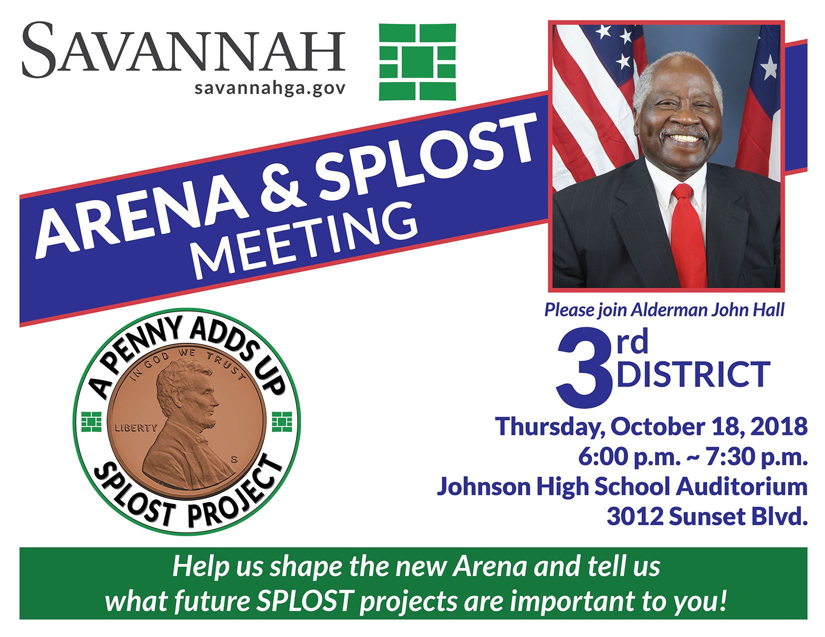Alderman Johnson District 3 Town Hall