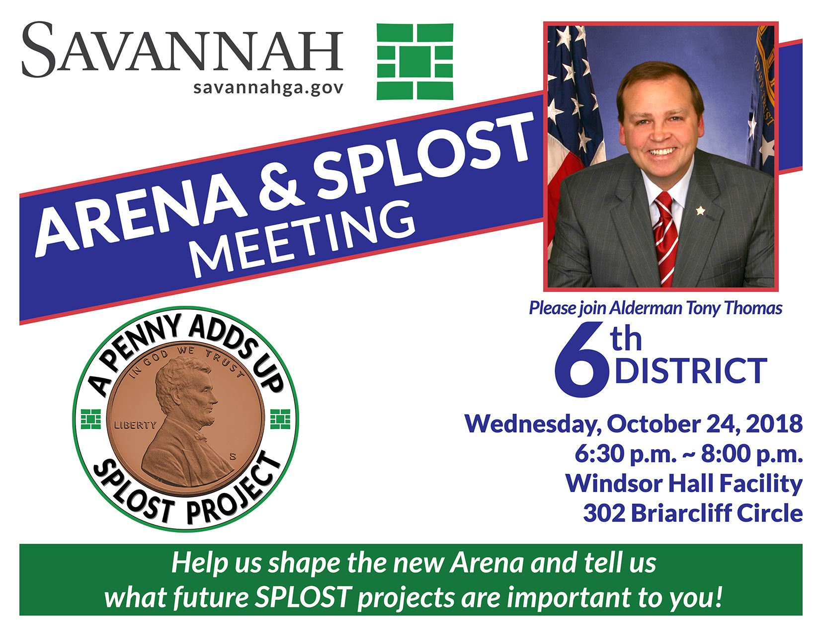 6th District Town Hall