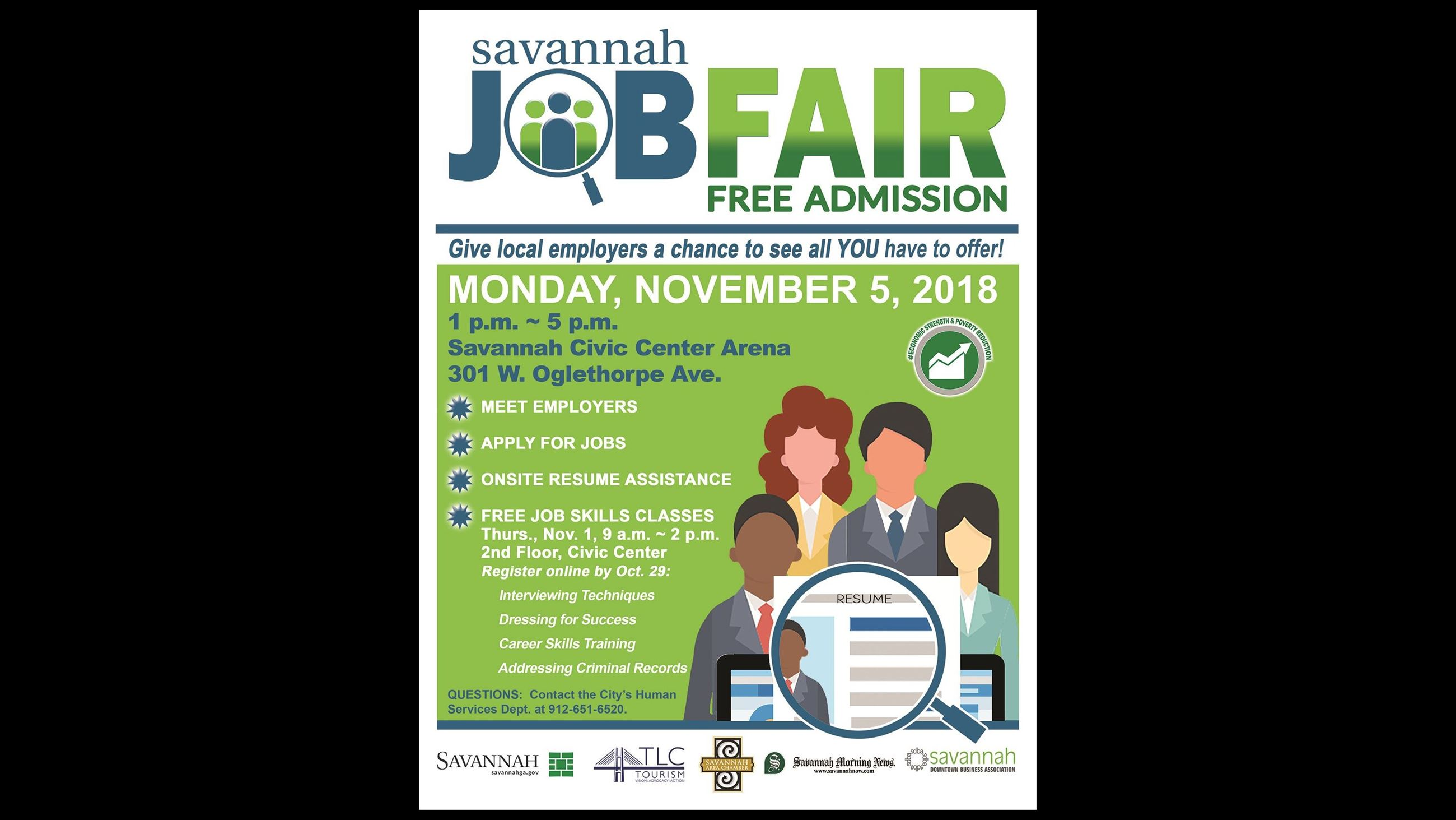 Job Fair NOVEMBER 5 2018 FLYER