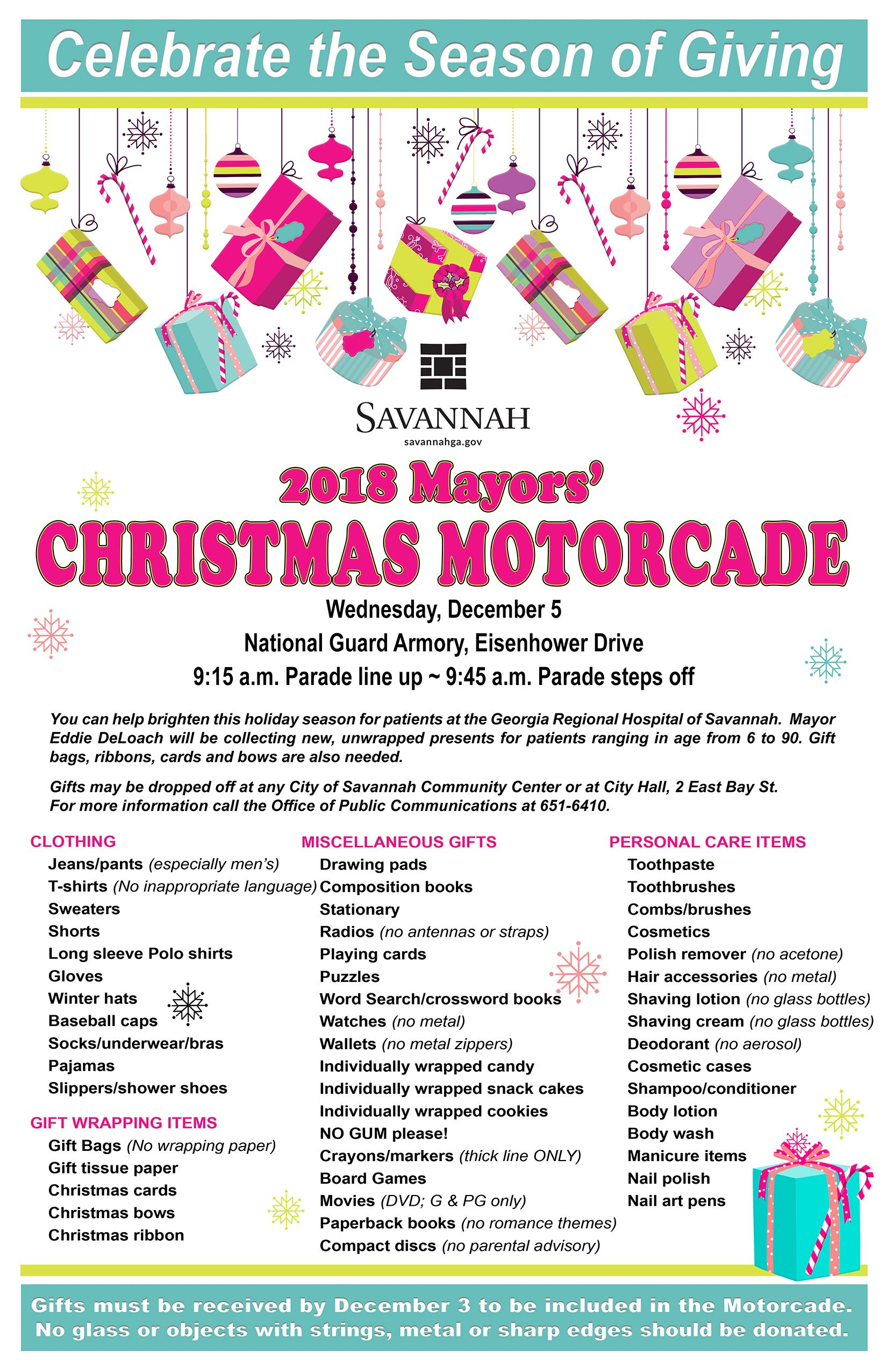 Mayors Motorcade Flyer