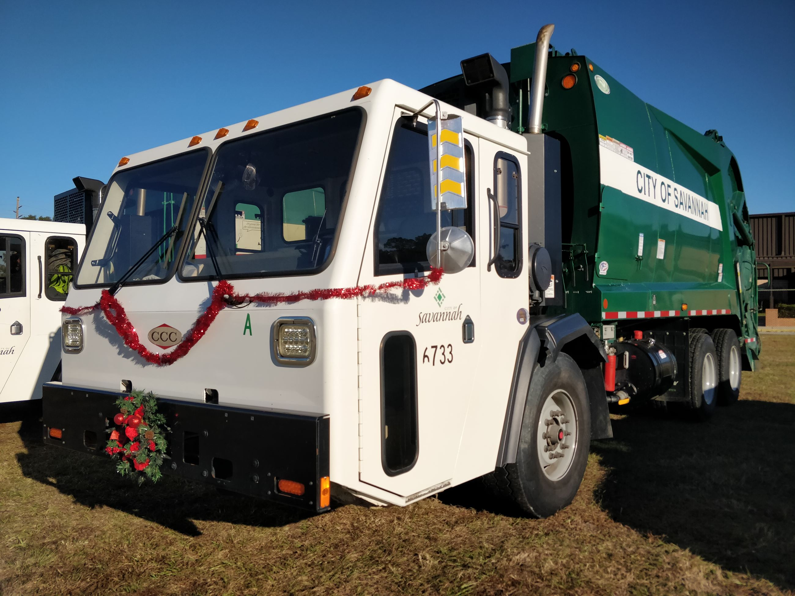 Sanitation Truck Decorated
