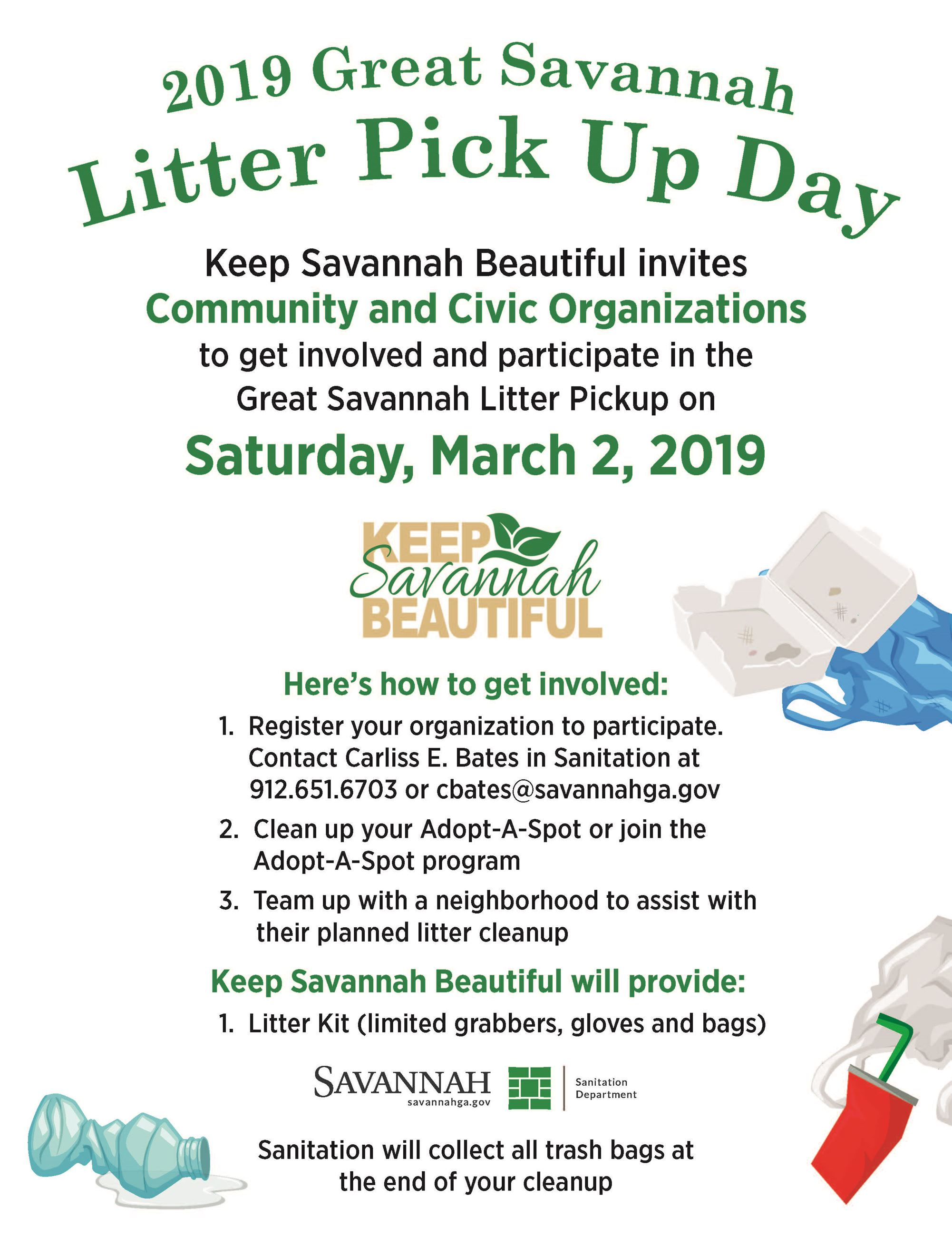 2019 Litter Pick Up