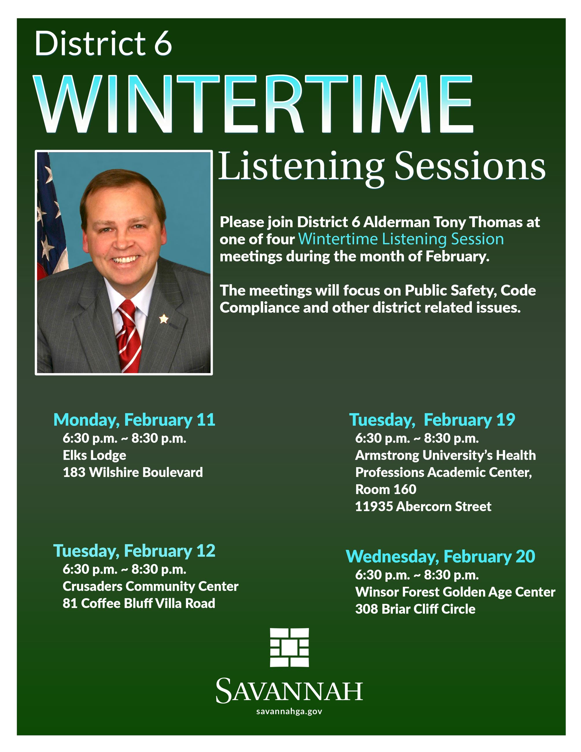 D6 Winter Session Flyer