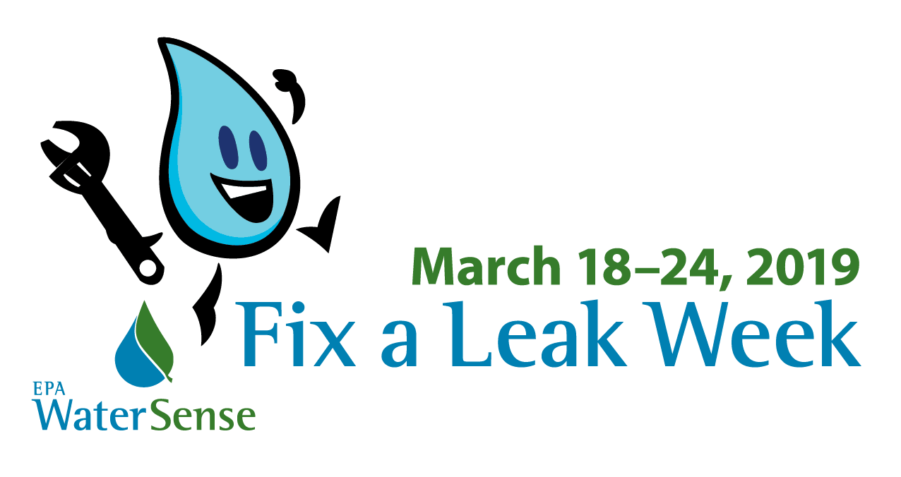 Fix a Leak Week Logo