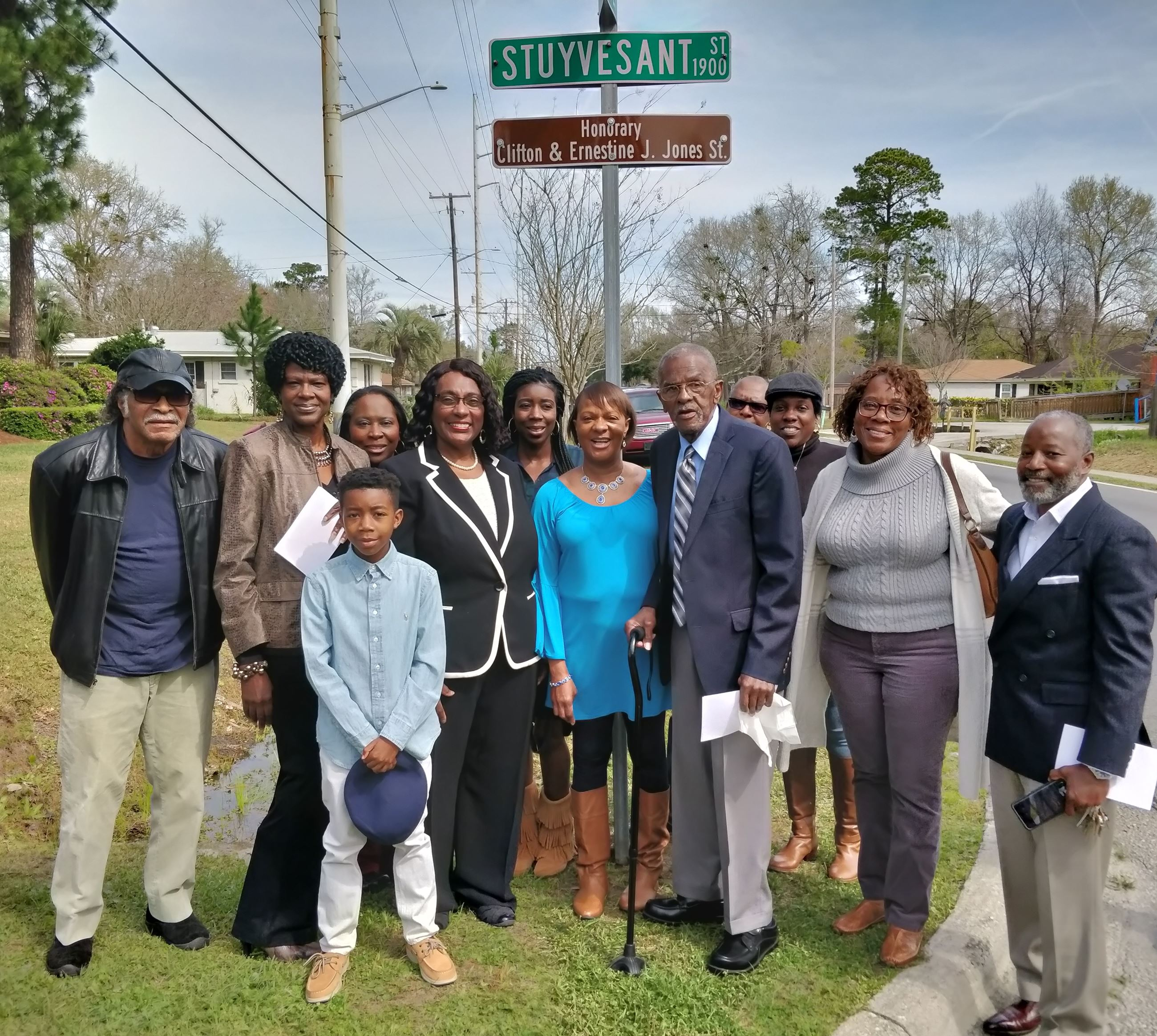 Jones Family with Dr Shabazz