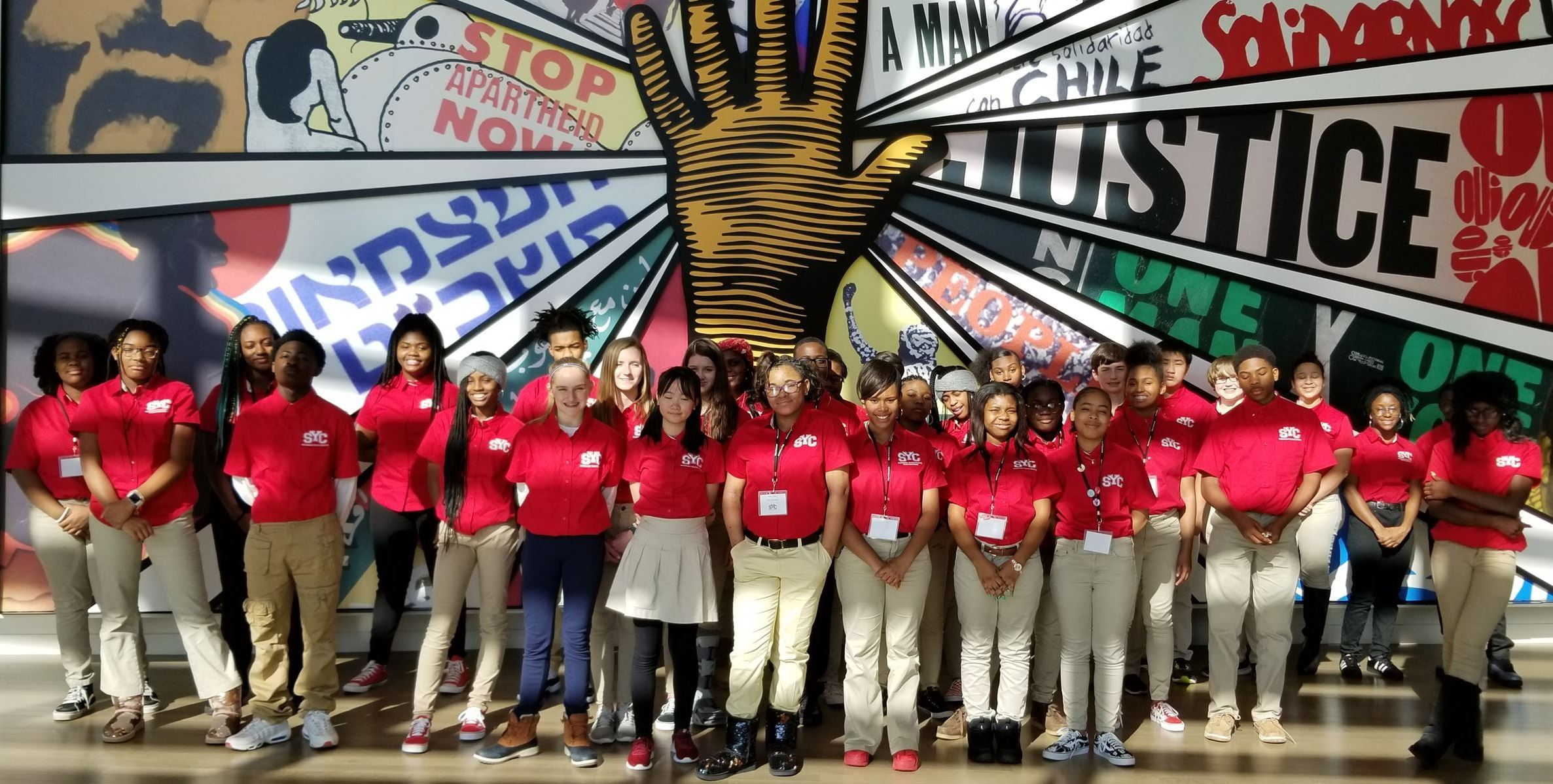 SYC Visits the Center for Civil and Human Rights