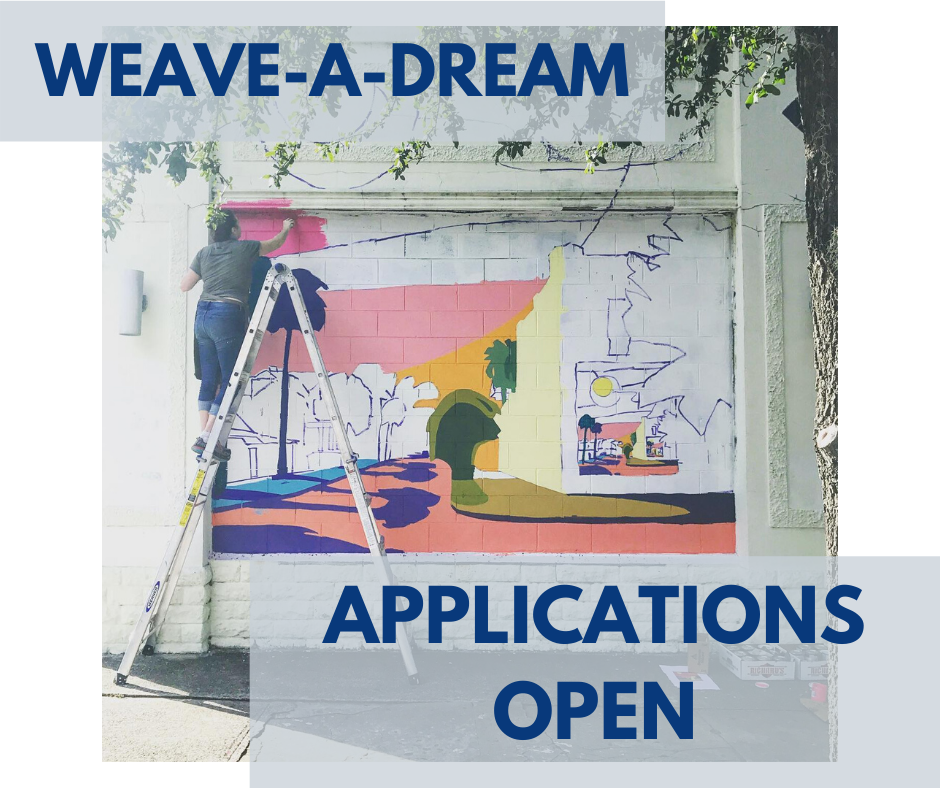 Weave-A-Dream Applications Open 2020