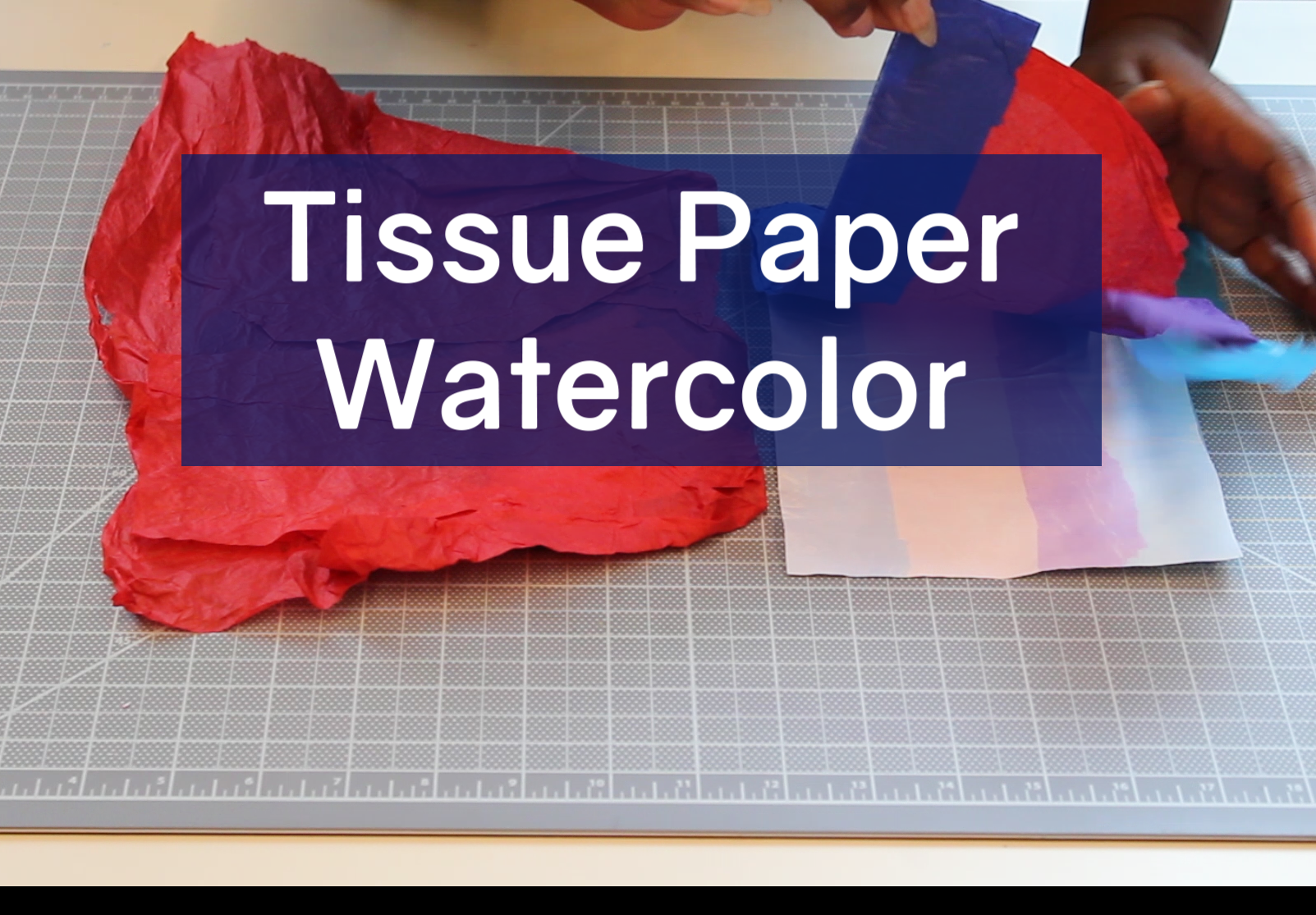 Tissue Paper Watercolor Cover Image Opens in new window