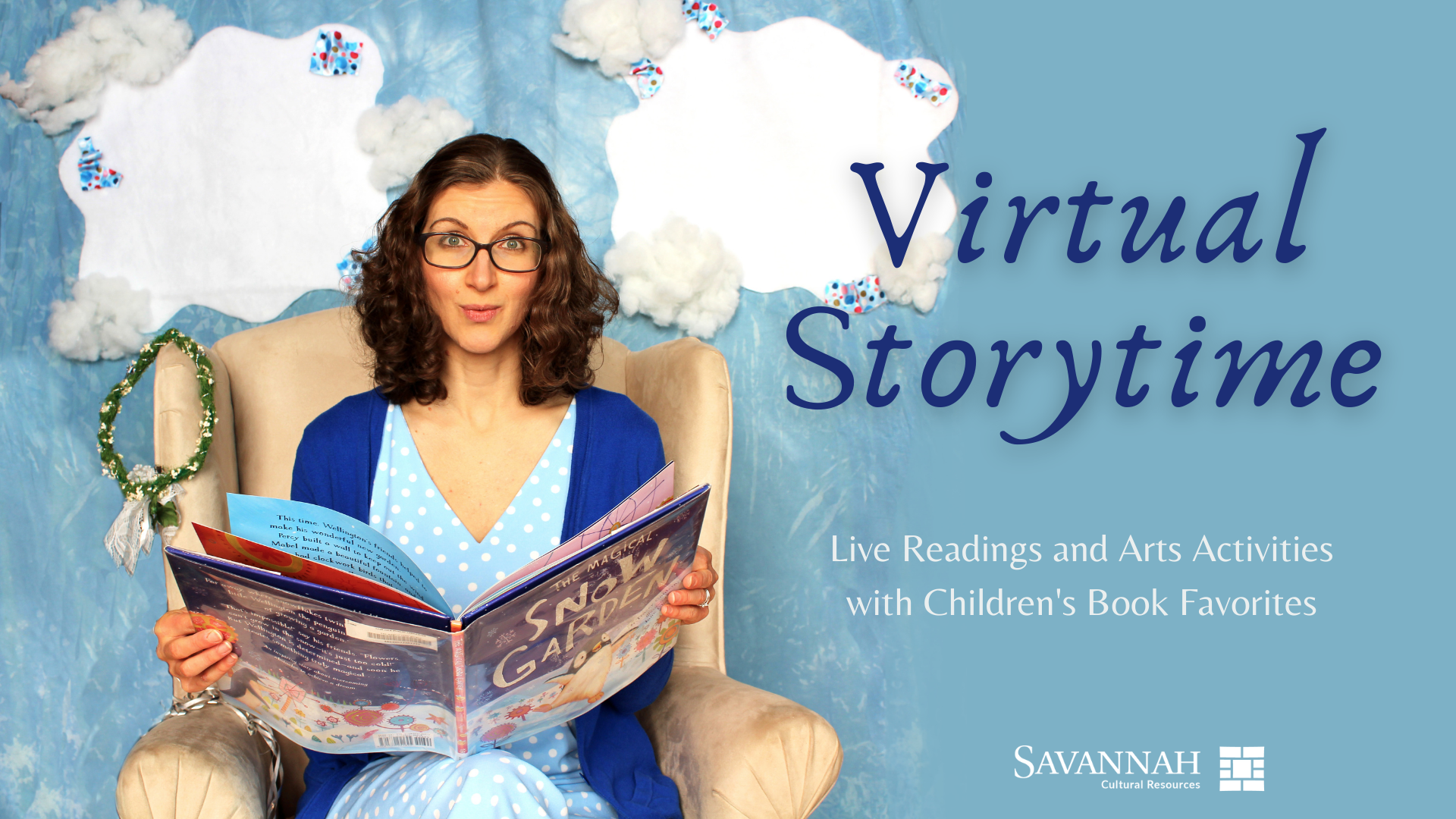 Virtual Storytelling_Facebook event cover image Opens in new window