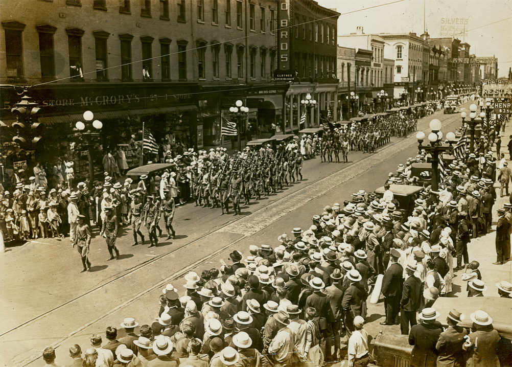 World War 1 Parade on Broughton Street, undated