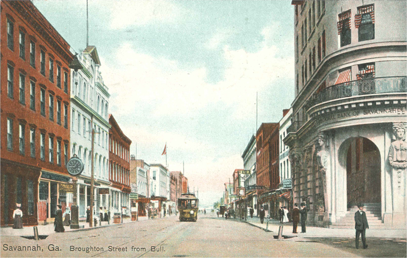 Broughton Street from Bull, postmarked 1910