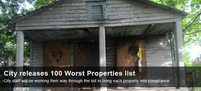 100 worst properties list