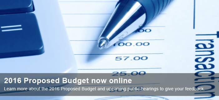 2016 Proposed Budget