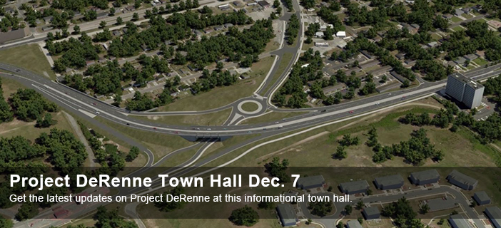 Project DeRenne Town Hall