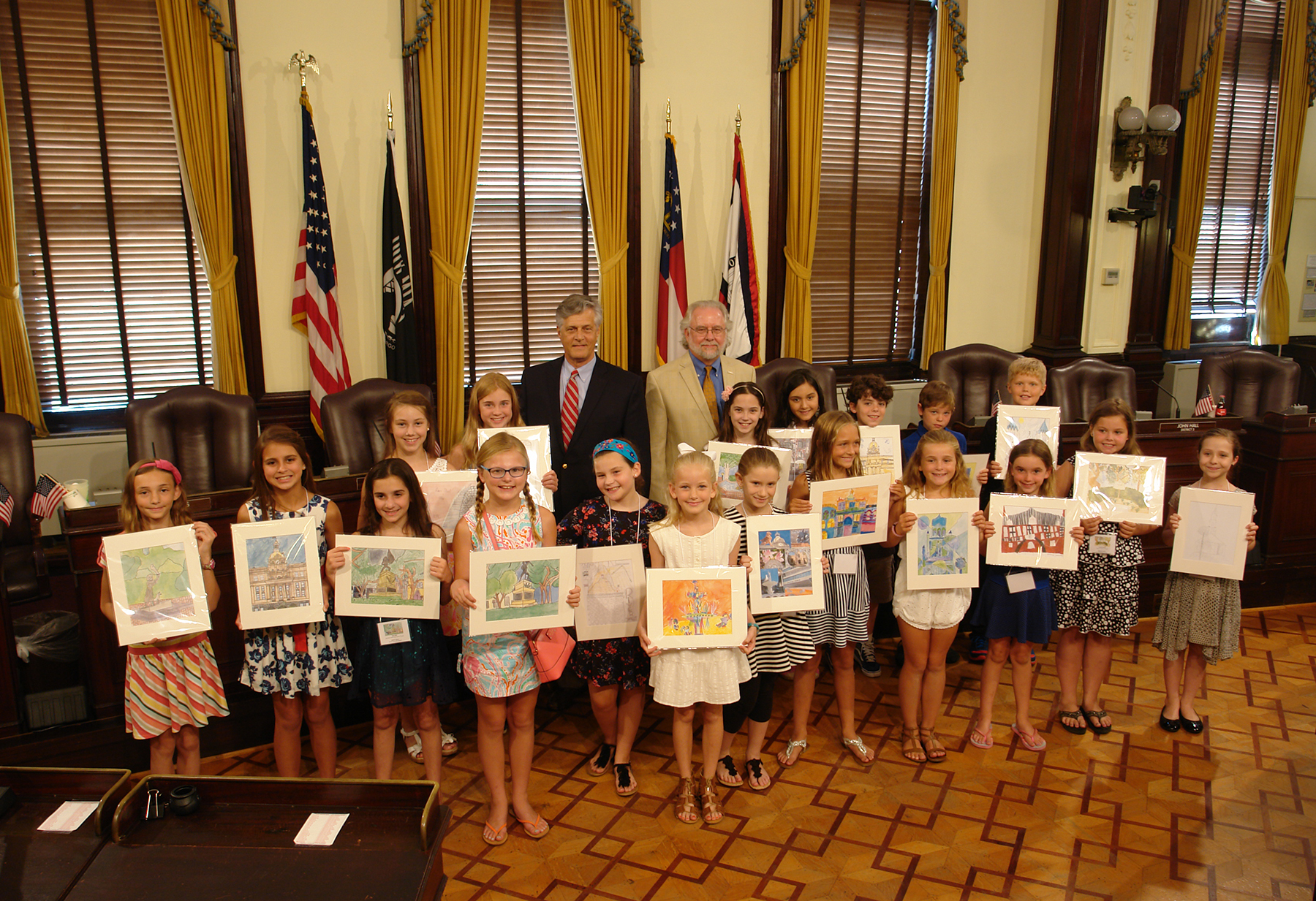 City of Savannah Elementary School Art Competition Awards Ceremony 07062016.jpg
