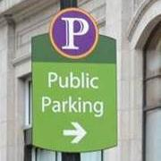 Wayfinding Directional Parking Sign
