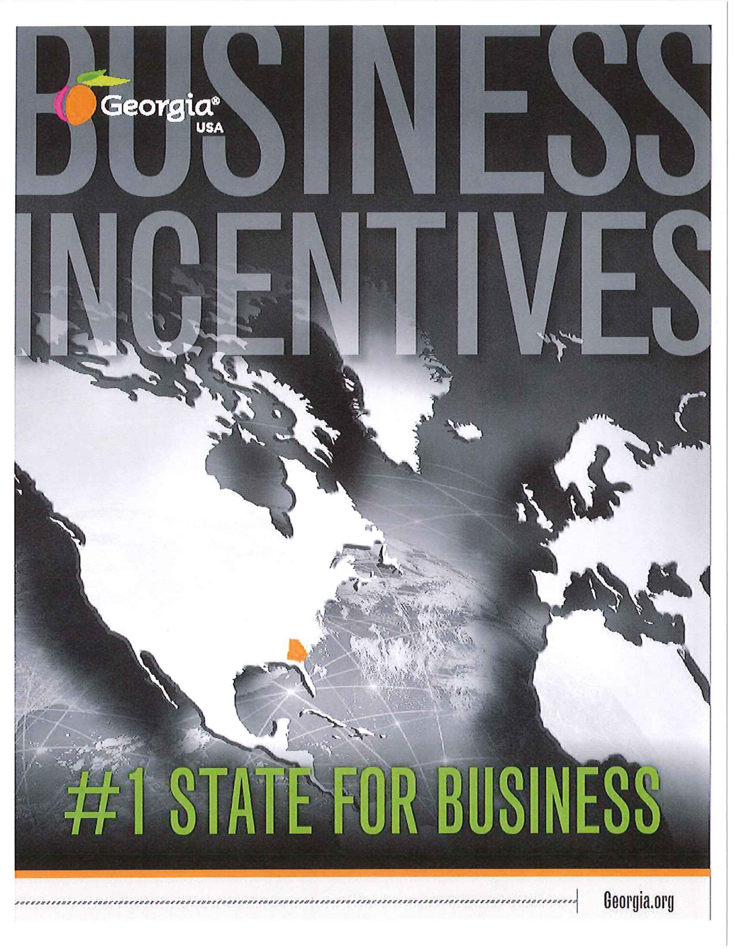 Business Incentives Brochure