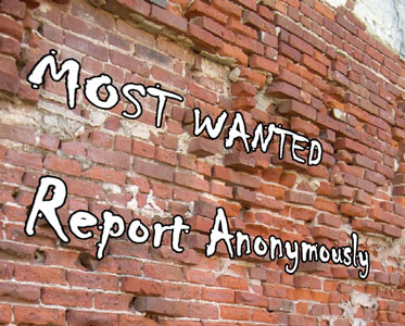 Most Wanted, Report Anonymously