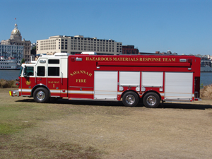 Savannah Fire Hazmat Truck
