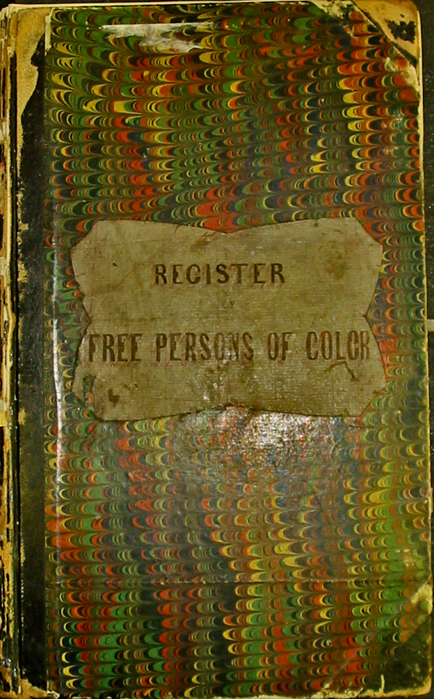 Free Persons of Color Register